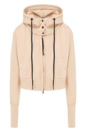 Хлопковая куртка Roque. Цвет: бежевый