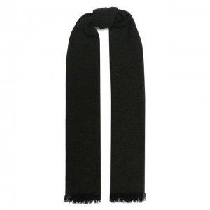 Кашемировый шарф Kiton. Цвет: зелёный