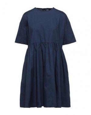 Короткое платье LAZY OAF. Цвет: темно-синий