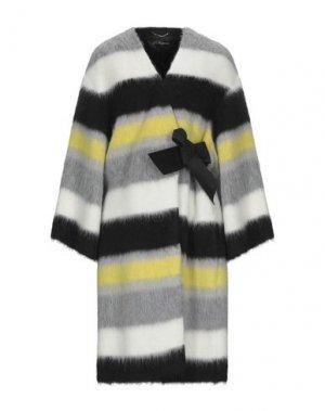 Пальто LES COPAINS. Цвет: светло-серый