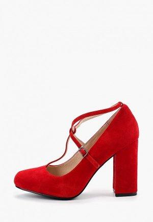 Туфли Pierre Cardin. Цвет: красный