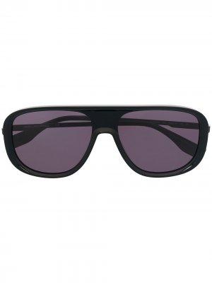 Солнцезащитные очки-авиаторы Urban Koncept Karl Lagerfeld. Цвет: черный