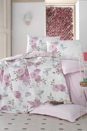 Комплект постельного белья Cotton box. Цвет: pink, white, grey