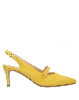Туфли JET-SET Paris. Цвет: желтый