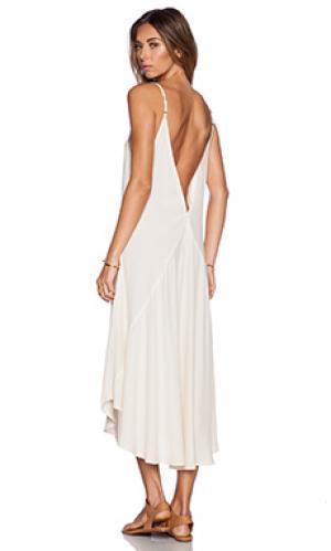 Платье-майка joni Cleobella. Цвет: беж