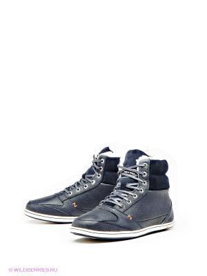 Ботинки HUB. Цвет: синий