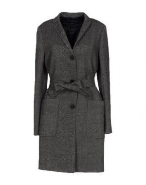 Пальто TRUE TRADITION. Цвет: свинцово-серый