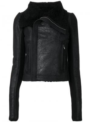 Куртка на молнии Rick Owens. Цвет: чёрный