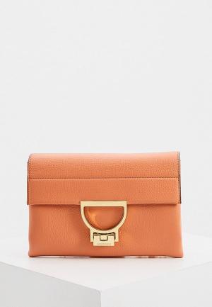 Сумка Coccinelle ARLETTIS. Цвет: оранжевый