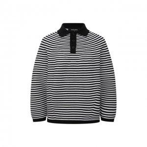 Хлопковый пуловер Dsquared2. Цвет: чёрно-белый