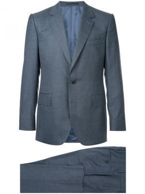 Деловой костюм Gieves & Hawkes. Цвет: синий