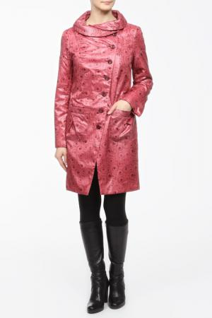 Пальто L-Design. Цвет: красный