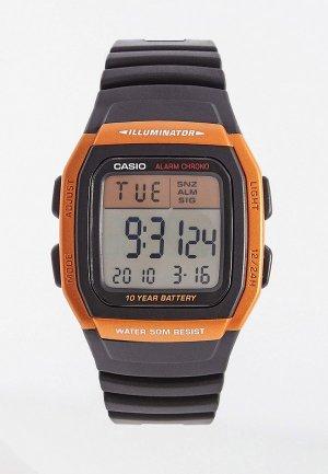Часы Casio Collection W-96H-4A2VEF. Цвет: черный