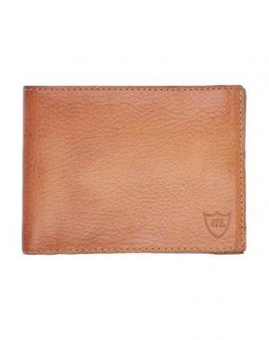Бумажник HTC. Цвет: коричневый