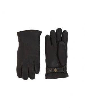 Перчатки HESTRA. Цвет: черный