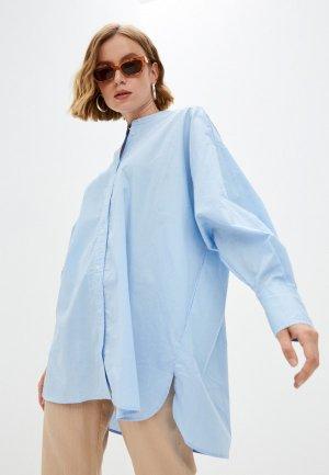 Рубашка Concept Club. Цвет: голубой