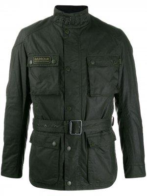Куртка B.INTL Blackwell Barbour. Цвет: зеленый