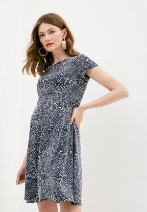 Платье Fest. Цвет: синий