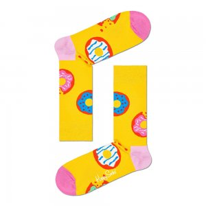 Jumbo Donut Socks Happy. Цвет: желтый