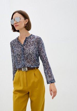 Блуза French Connection. Цвет: синий