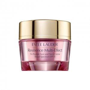 Дневной лифтинговый крем для сухой кожи Resilience Multi-Effect Estée Lauder. Цвет: бесцветный