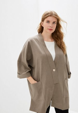 Пиджак Montebella Style. Цвет: коричневый