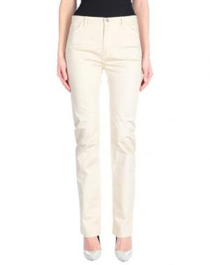Повседневные брюки MAURICE ABOT. Цвет: бежевый