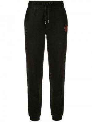Спортивные брюки с логотипом A.F.Vandevorst. Цвет: черный