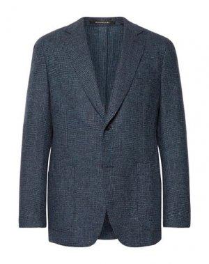 Пиджак RICHARD JAMES. Цвет: синий