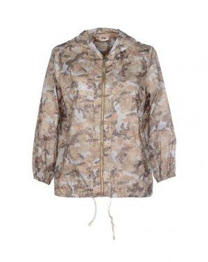 Куртка PAOLO PECORA. Цвет: хаки