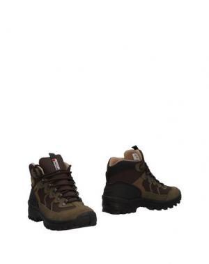 Полусапоги и высокие ботинки GRISPORT. Цвет: зеленый-милитари
