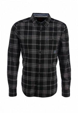 Рубашка EDC by Esprit. Цвет: черный