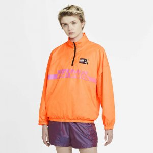 Woven Wash Jacket Nike. Цвет: оранжевый