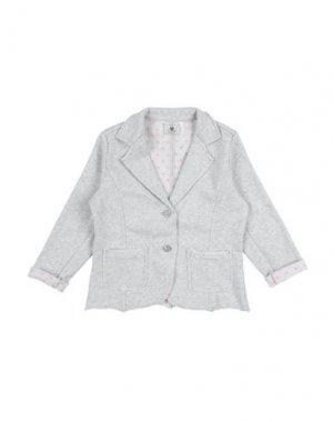 Пиджак TO BE TOO. Цвет: светло-серый