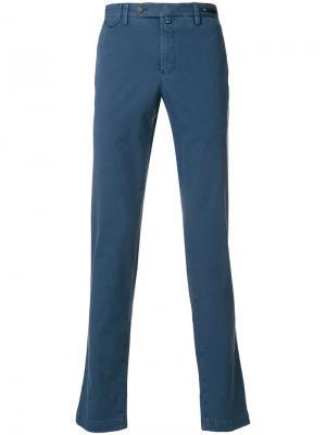 Классические брюки-чинос Pt01. Цвет: синий