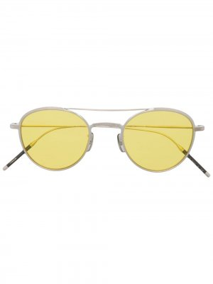 Солнцезащитные очки TK-2 Oliver Peoples. Цвет: серебристый