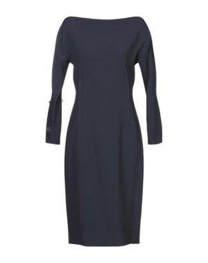 Платье до колена GOSSIP. Цвет: темно-синий