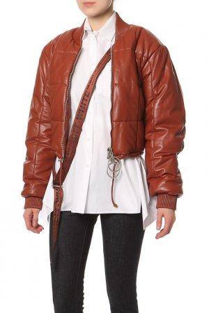 Куртка Off-White. Цвет: коричневый