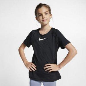 Футболка с коротким рукавом для девочек школьного возраста Pro Nike