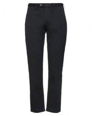 Повседневные брюки RED FLEECE by BROOKS BROTHERS. Цвет: черный