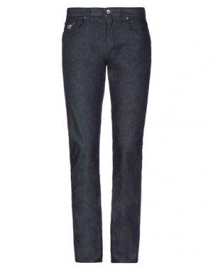 Джинсовые брюки HENRY COTTON'S. Цвет: синий