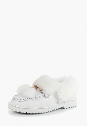Ботинки Berkonty. Цвет: белый