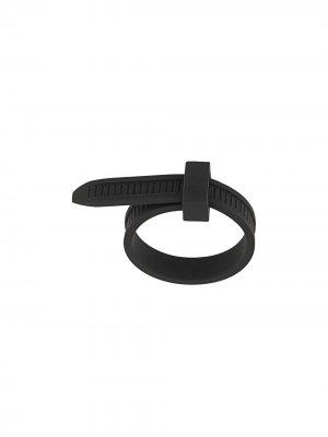 Кольцо Zip Tie AMBUSH. Цвет: черный