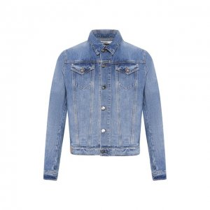 Джинсовая куртка 2 Men Jeans. Цвет: синий