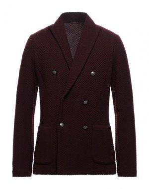 Пиджак GRAN SASSO. Цвет: красно-коричневый