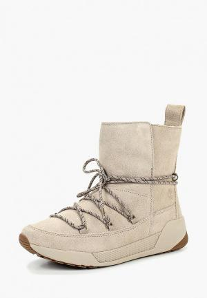 Ботинки Timberland Kiri. Цвет: бежевый