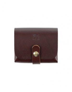 Бумажник IL BISONTE. Цвет: темно-коричневый
