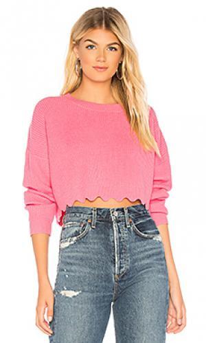 Пуловер derry Tularosa. Цвет: розовый