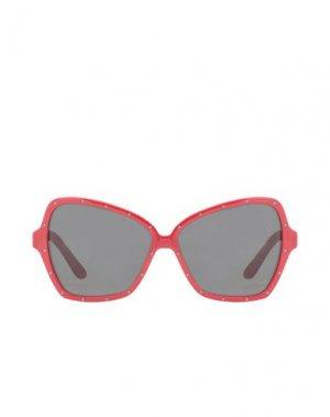 Солнечные очки CELINE. Цвет: красный