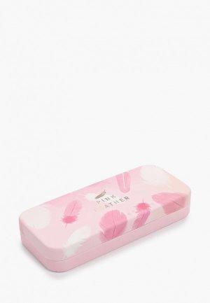 Чехол для очков Zakka. Цвет: розовый